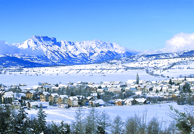 Station De Ski Ancelle Alpes Du Sud Hautes Alpes