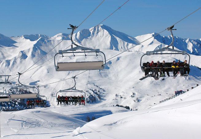 station de ski la grande plagne alpes du nord savoie ecoles de ski. Black Bedroom Furniture Sets. Home Design Ideas