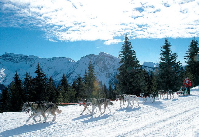 station de ski les gets alpes du nord haute savoie vacances