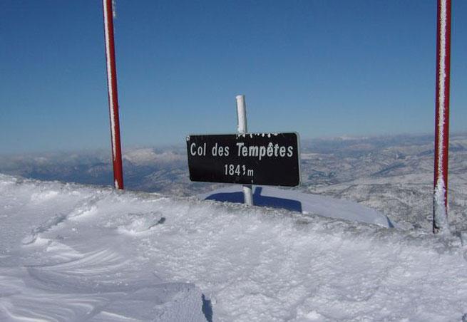 station de ski mont ventoux mont serein alpes du sud vaucluse domaine skiable