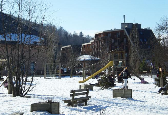 location appartement ski saint jean montclar
