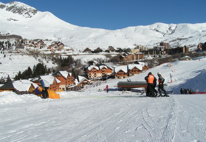 Station de ski saint fran ois longchamp alpes du nord - Office du tourisme st francois longchamp ...