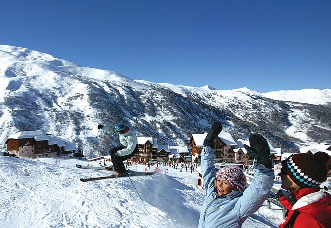 Station de ski valmeinier alpes du nord savoie h bergements - Office du tourisme valmeinier 1800 ...