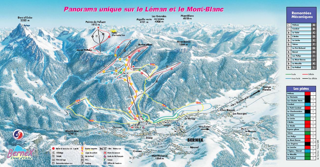 Station De Ski Bernex Alpes Du Nord Haute Savoie Vacances