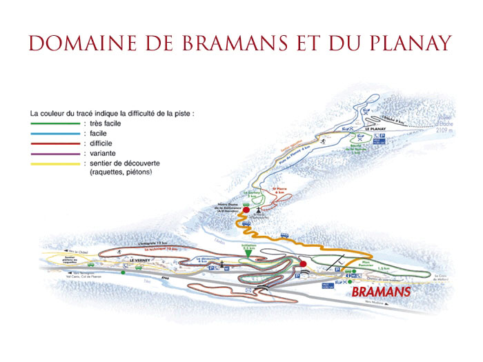 Station De Ski Bramans - Alpes Du Nord - Savoie