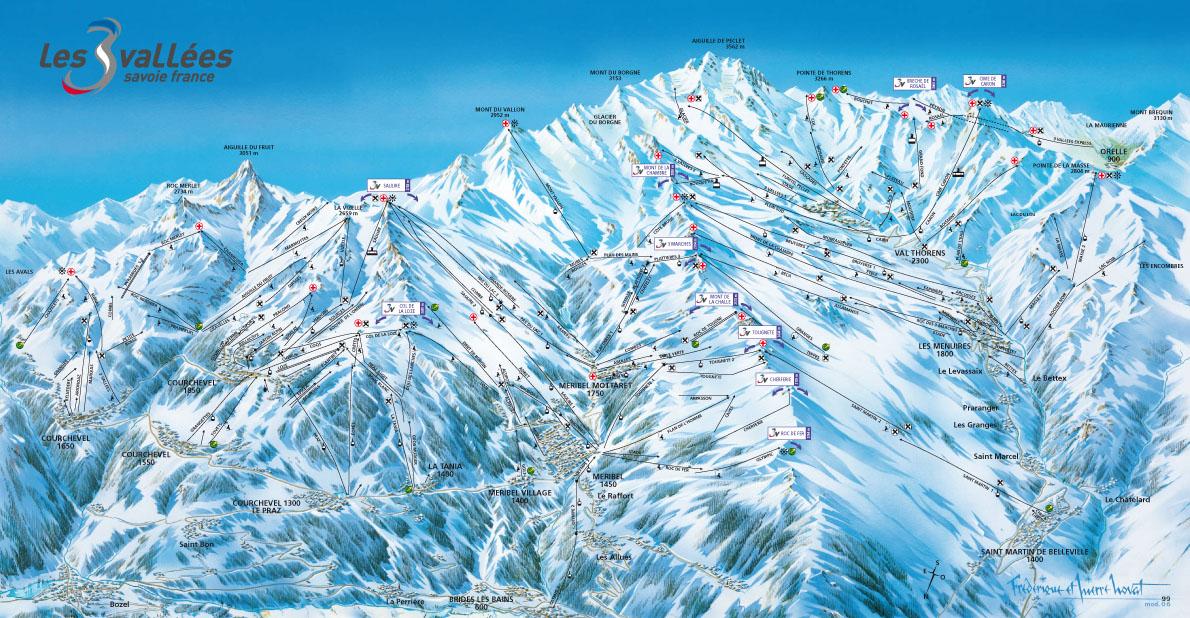 Station de ski brides les bains alpes du nord savoie vacances - Cabinet medical moutiers ...