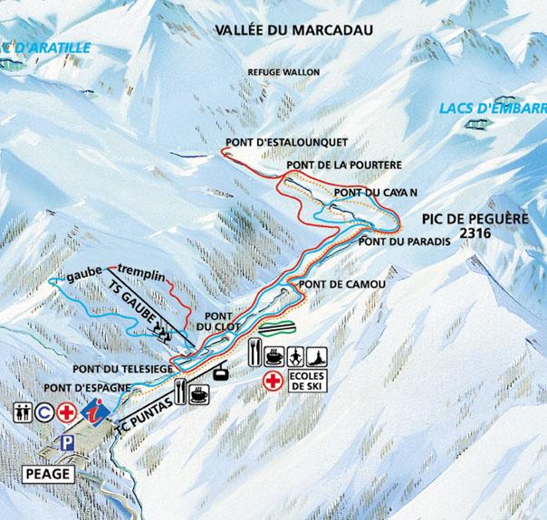 Station de ski cauterets pyr n es hautes pyr n es - Site officiel office de tourisme de cauterets ...