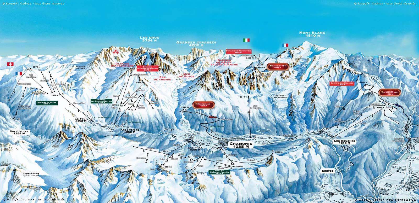 Station de ski chamonix alpes du nord haute savoie for Piste de ski interieur
