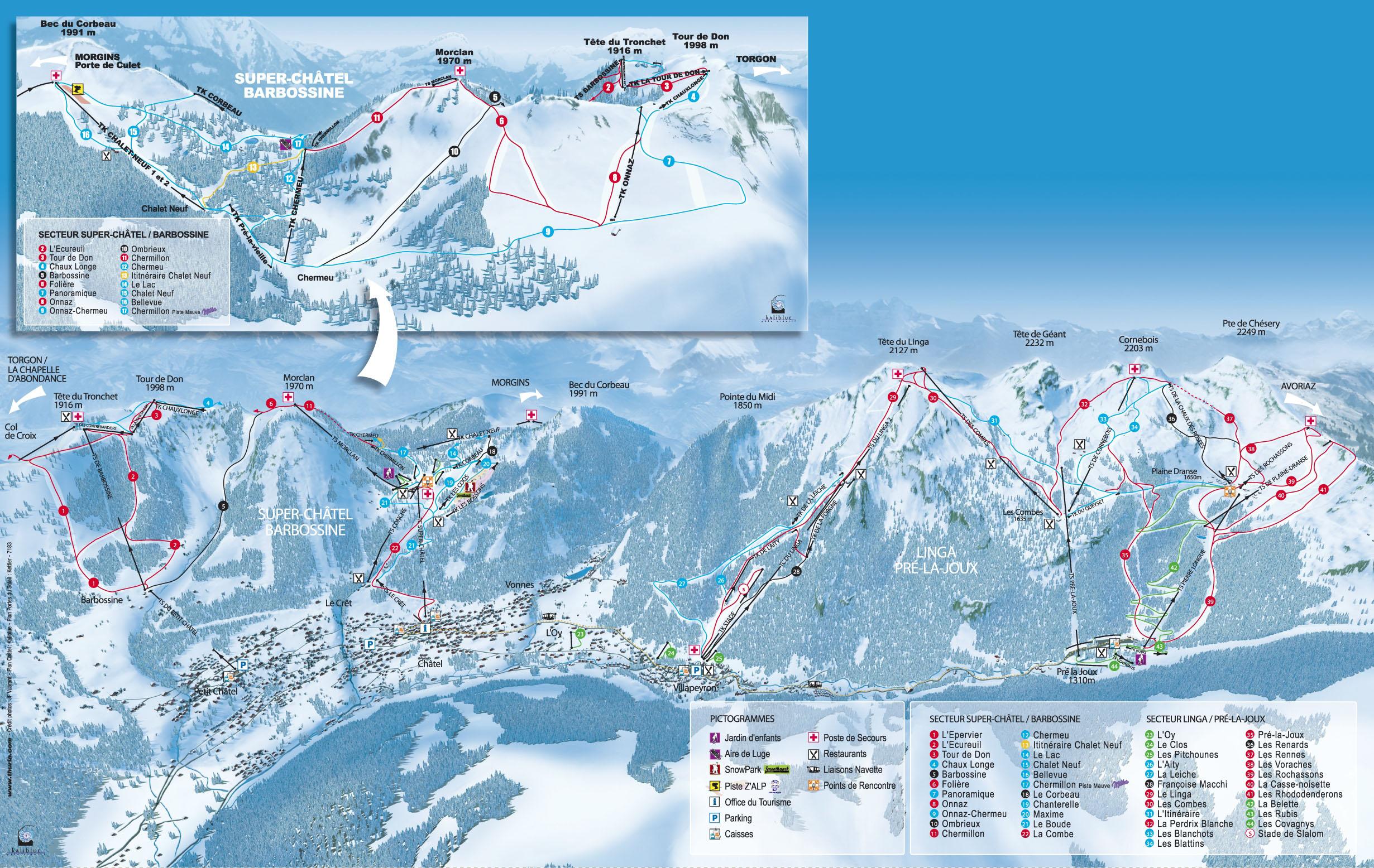 Station De Ski Ch 226 Tel Alpes Du Nord Haute Savoie H 233 Bergements