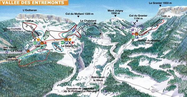 Station de ski le d sert d 39 entremont en chartreuse alpes - Office tourisme st pierre de chartreuse ...