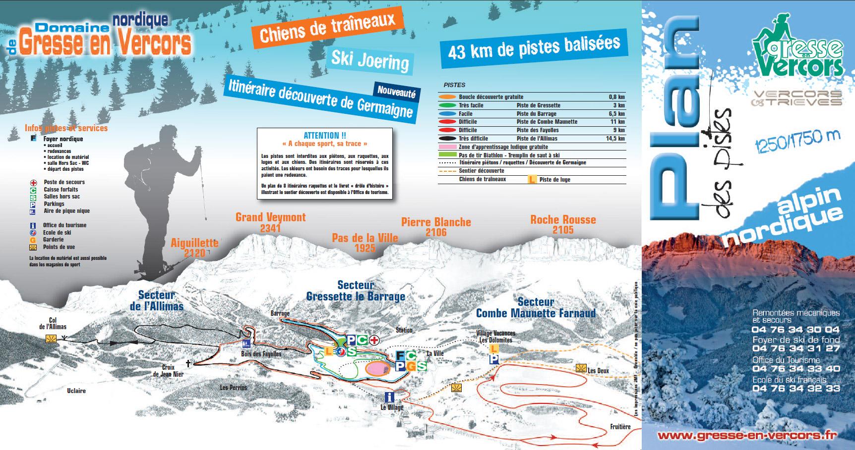 Station de ski gresse en vercors alpes du nord is re - Office de tourisme de gresse en vercors ...