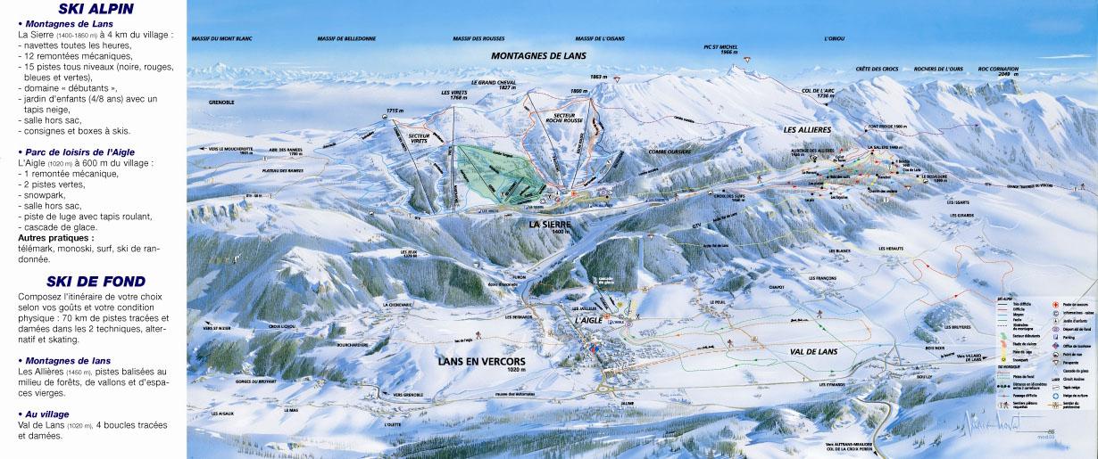 Station de ski lans en vercors alpes du nord is re vacances - Office de tourisme de lans en vercors ...
