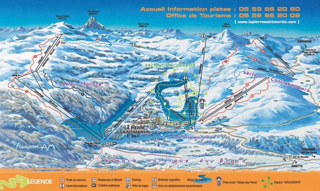 Station de ski la pierre saint martin pyr n es - Office de tourisme la pierre st martin ...