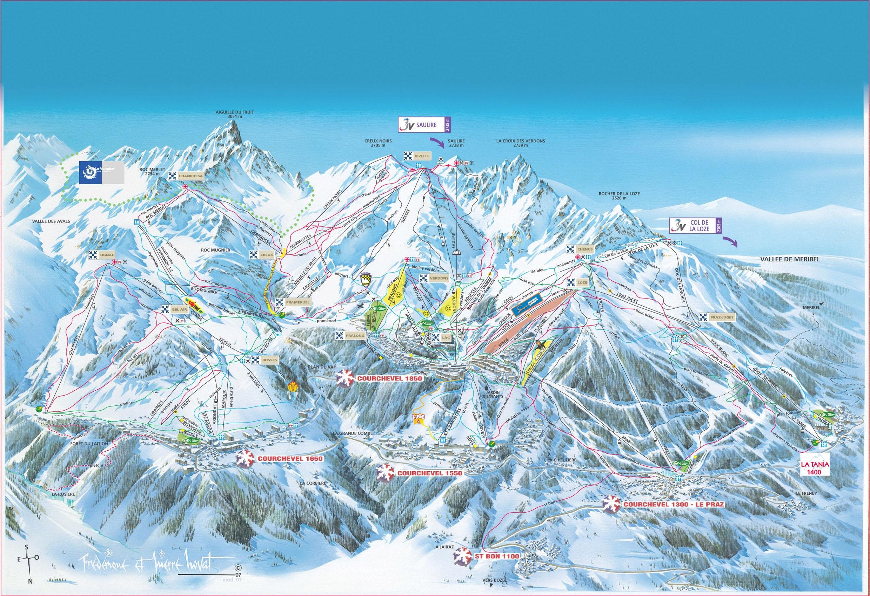 Station de ski la tania alpes du nord savoie vacances - Cabinet medical moutiers ...