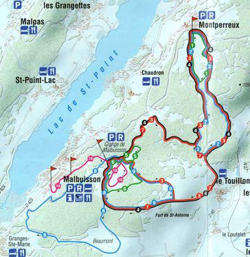 Station De Ski Malbuisson Jura Doubs Vacances