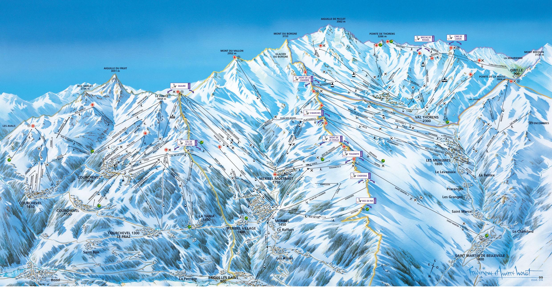 Station de ski m ribel alpes du nord savoie vacances - Office du tourisme de meribel ...