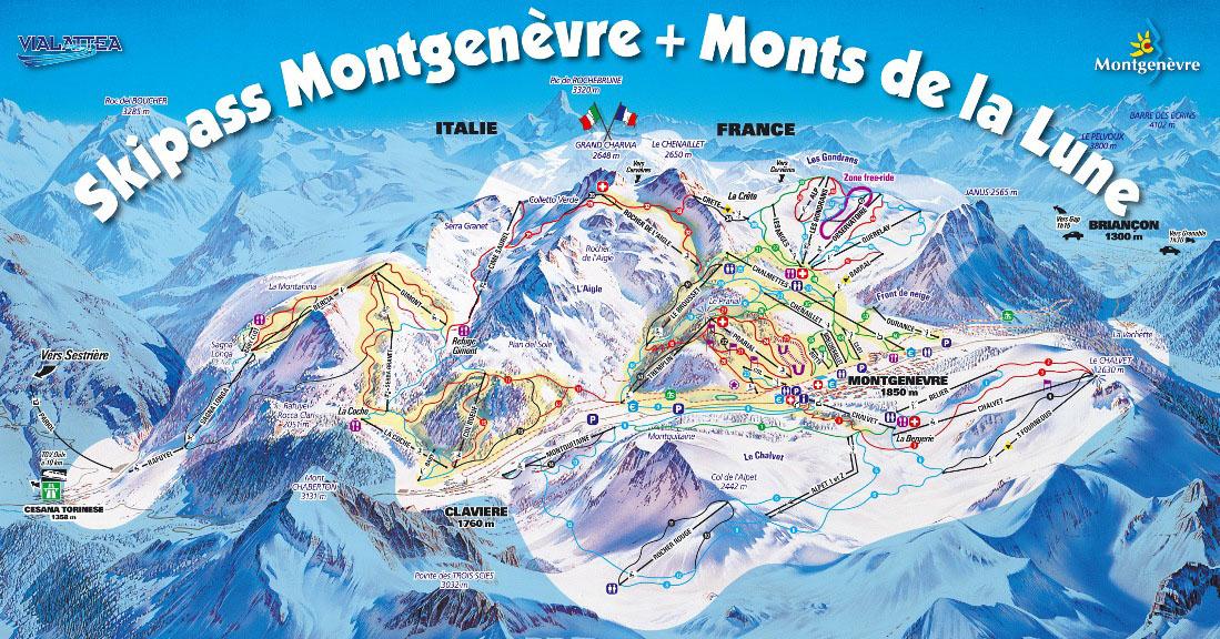 Station de ski montgen vre alpes du sud hautes alpes vacances - Montgenevre office tourisme ...