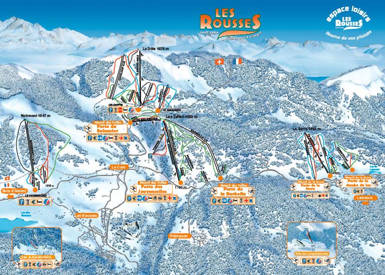 Station de ski morbier jura jura vacances - Office de tourisme les rousses dans le jura ...