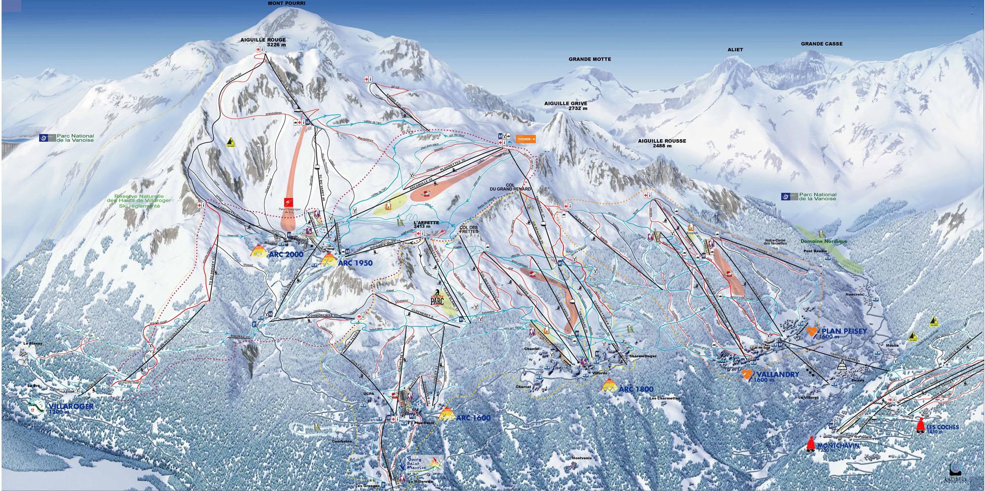 Station de ski peisey vallandry alpes du nord savoie vacances - Office de tourisme de bourg saint maurice ...