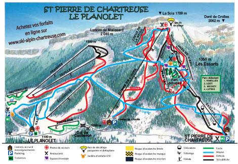 Station de ski saint pierre en chartreuse alpes du nord - Office tourisme saint pierre de chartreuse ...