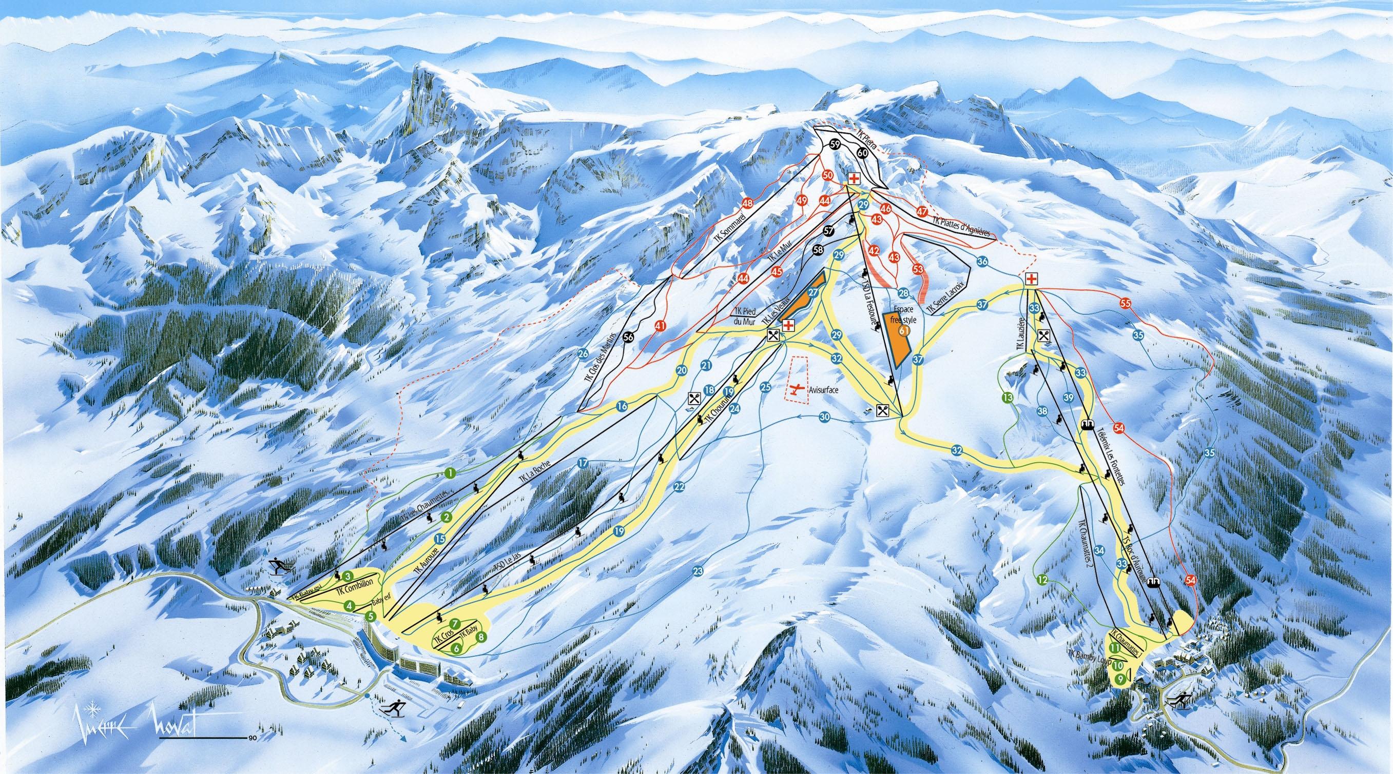 Station de ski superd voluy la joue du loup alpes du sud hautes alpes vacances - Office de tourisme superdevoluy ...