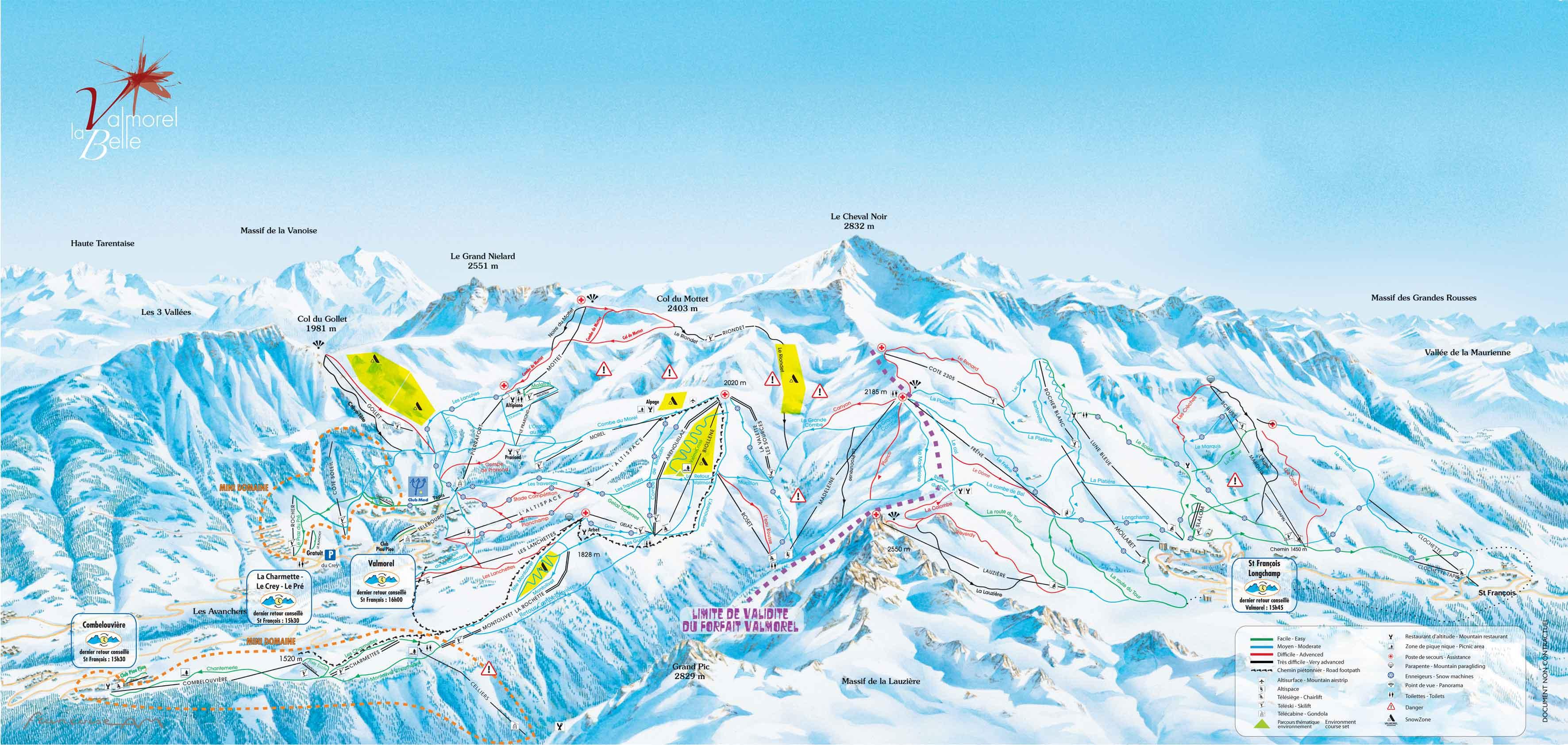 Station de ski valmorel alpes du nord savoie vacances - Cabinet medical moutiers ...