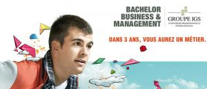 IGS : Nouveau BACHELOR Business & Management en Sept. 2013
