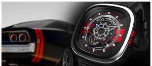 Montre d'exception « Big Block » signé SEVENFRIDAY