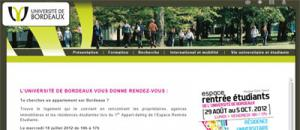 Logement étudiant Bordeaux :  1er Appart-dating  2012 de l'Université de Bordeaux