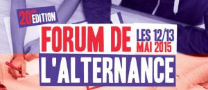 Forum de l'alternance 2015