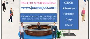 1er forum virtuel Emploi-Formation «Jeunes Job National»
