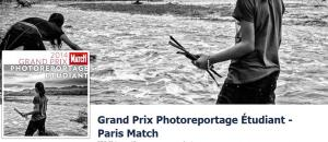 Grand Prix du Photoreportage Etudiant Paris Match 2014