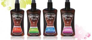 Hawaiian Tropic : nouvelle gamme d' huiles solaires