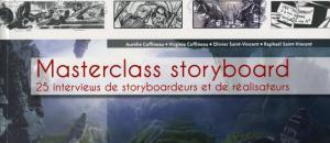 Masterclass storyboard - Une ouvrage des éditions EYROLLES
