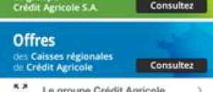 Le groupe Crédit Agricole lance son application mobile de recrutement :