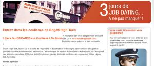 Café Sogeti High Tech : cap sur le recrutement à Toulouse