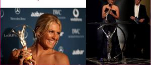 Stephanie Gilmore remporte le Laureus World Award