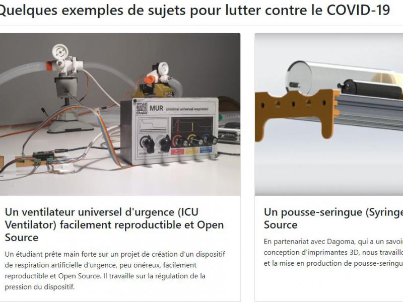 Les étudiants de l'EPITA se mobilisent contre le Covide-19