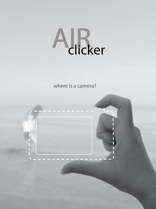 Air Camera: un gadget innovant qui transforme les doigts en appareil photo !
