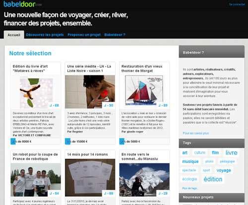 Babeldoor lance la première plateforme de financement participatif
