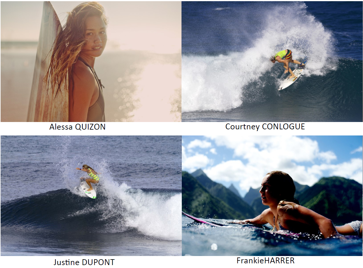 Billabong accueille les surfeuses professionnelles de son team international
