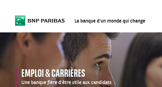 BNP PARIBAS recrute des informaticiens en Ile de France