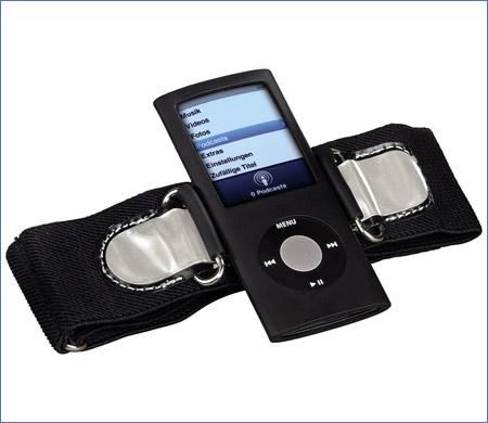 Brassard avec étui pour iPod : pratique pour faire du sport