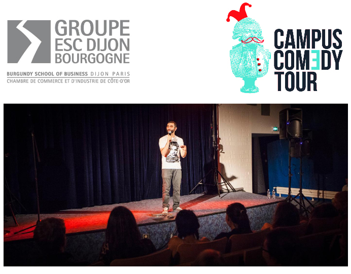 esc dijon campus comedy tour deuxi me. Black Bedroom Furniture Sets. Home Design Ideas
