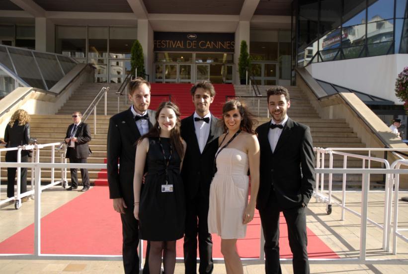Les étudiants du master pro assistant réalisateur de Poitiers  au générique d'un long-metrage à Cannes