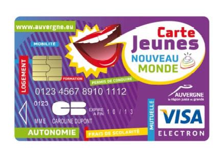 La Région Auvergne agit pour le pouvoir d'achat des jeunes avec la