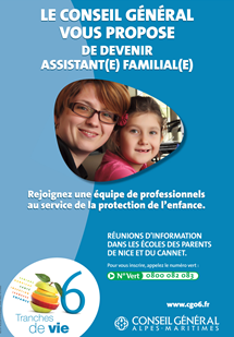 Profession « Assistant familial » dans le sude de la France