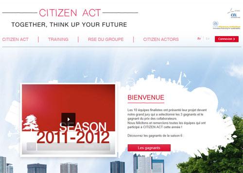 Soci t g n rale citizen act r compense le th me du - Plafond livret developpement durable societe generale ...