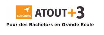 Concours Atout+3 qui rassemble 9 Grandes Ecoles de Management, toutes membres de la Conférence des Grandes Écoles :