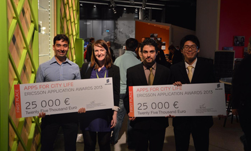 Concours Ericsson Application Awards 2014
